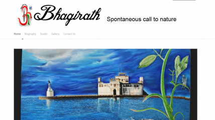 Bhagirath Art - Artist Website